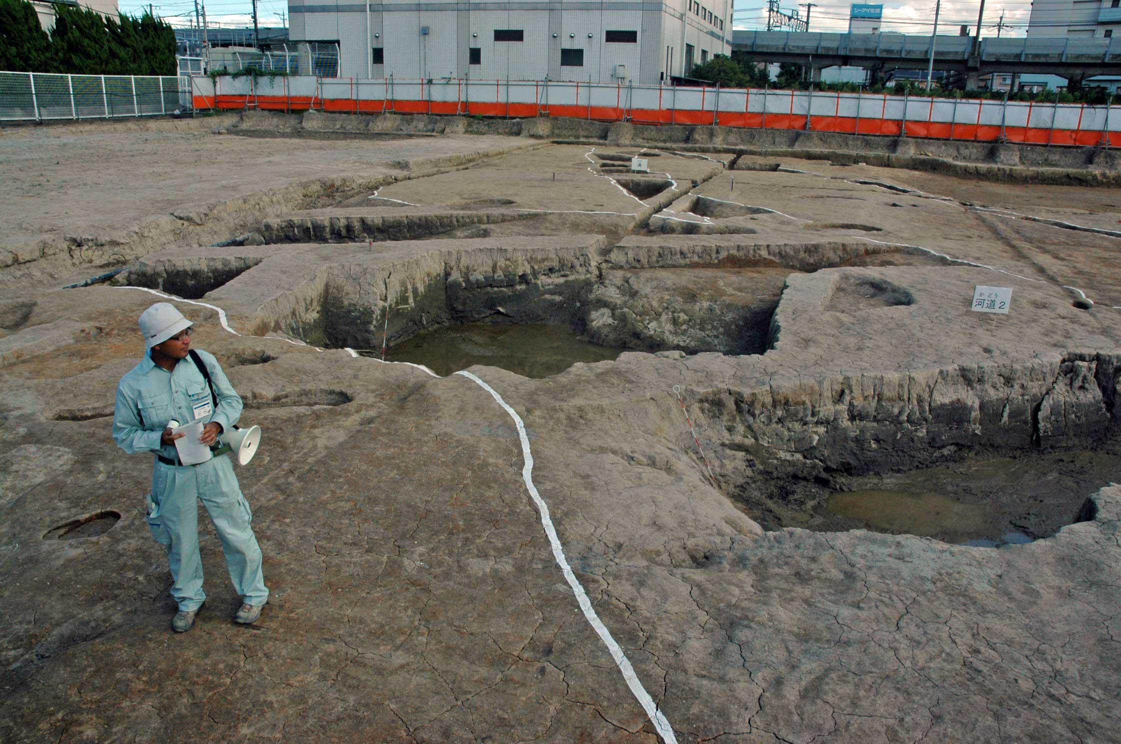 廃川を訪ねて④ 古代の葉山川?: ...