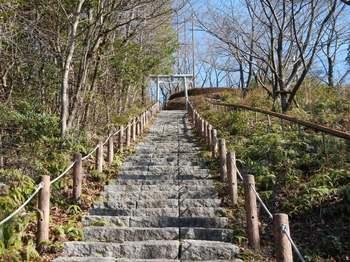 石段の山頂手前.jpg